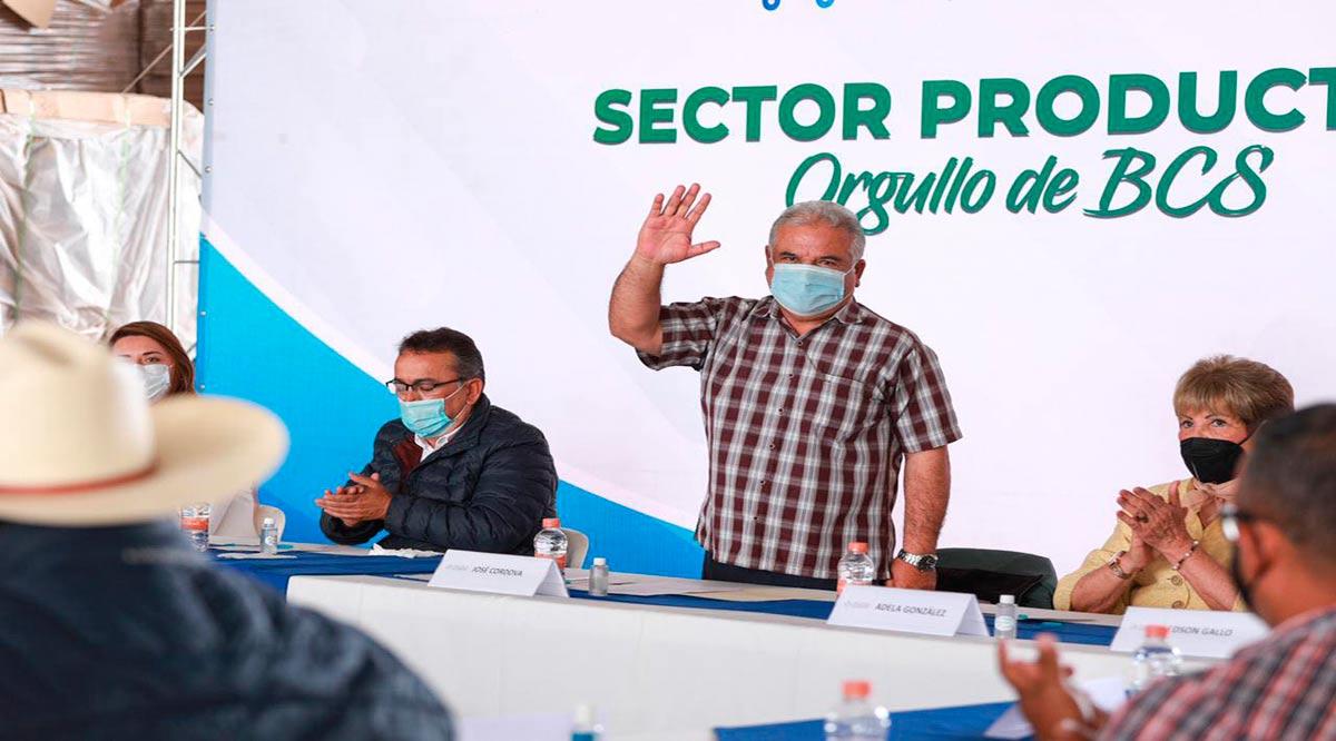"""""""Favorecerá a BCS el Programa de Alimentación Integral a sectores primarios"""": José Córdova"""