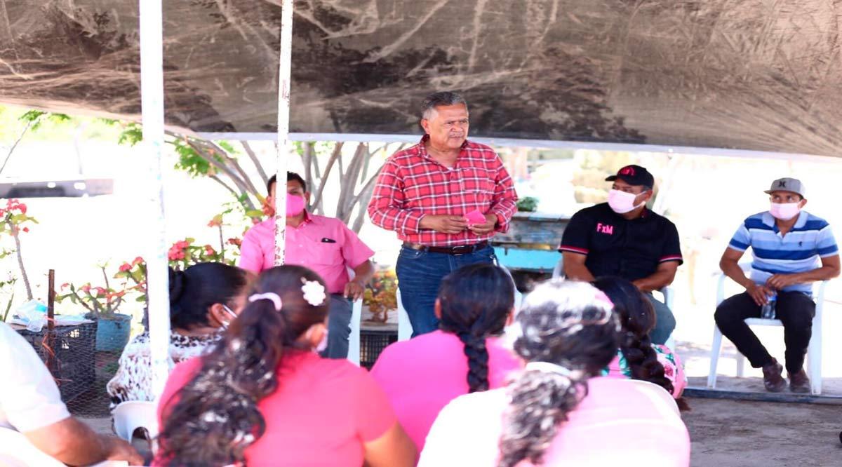 """""""No más abandono de rancheros en la zona serrana de Comondú"""": Roberto Pantoja"""