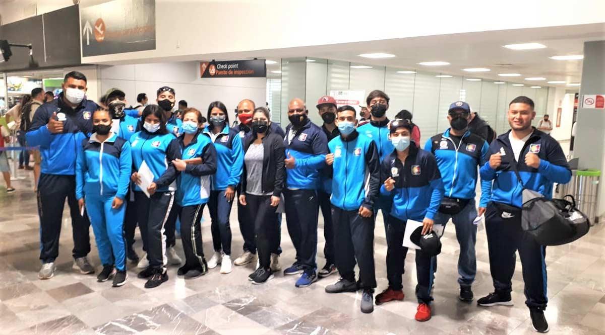 Abrirán boxeadores de BCS el Festival Olímpico Mexicano