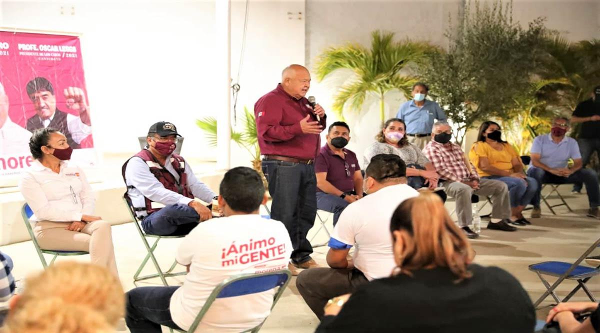 """""""Respetará gobierno de BCS el derechos de los burócratas"""": Víctor Castro"""
