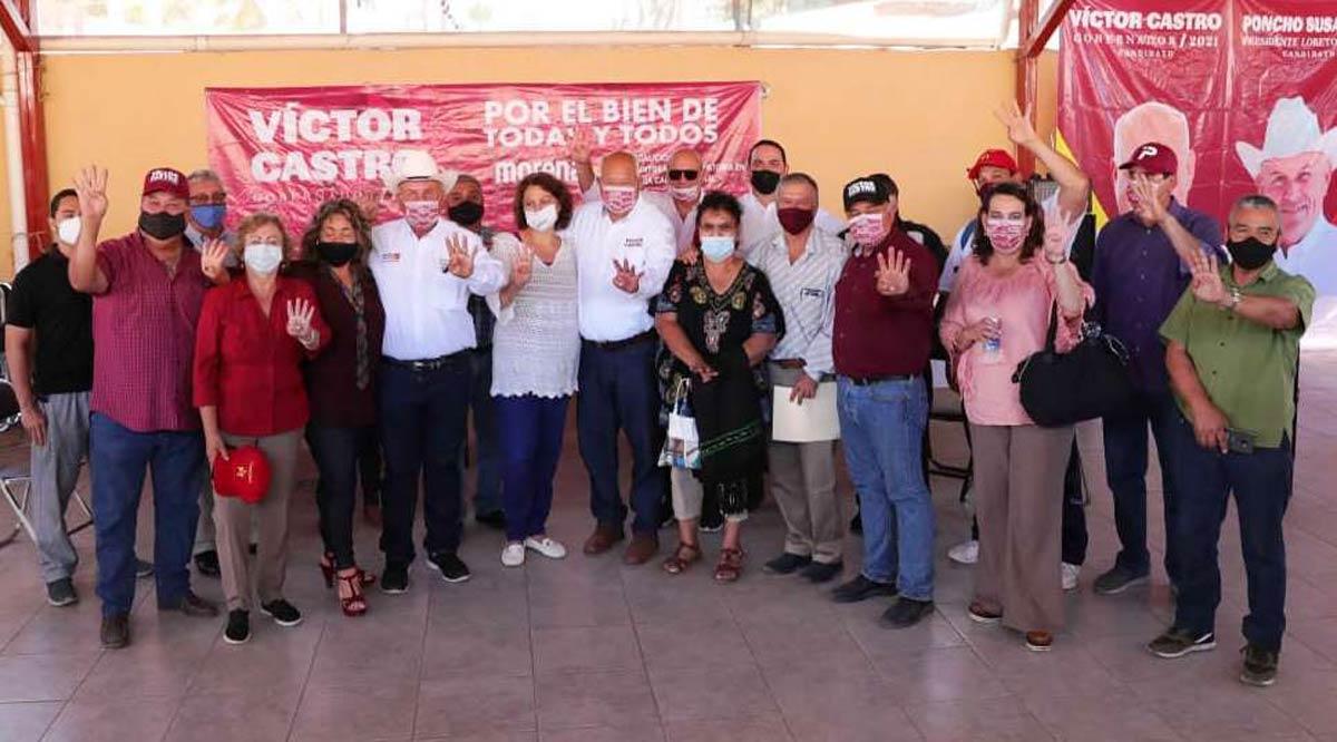 Mantendrá Víctor Castro el diálogo directo con empresarios desde gobierno estatal de Morena