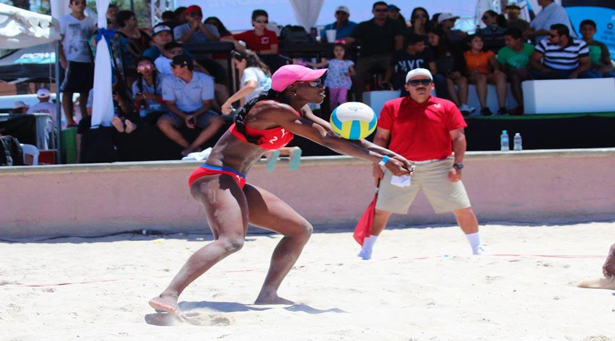 Par de jueces de BCS sancionarán mundial de volibol de playa