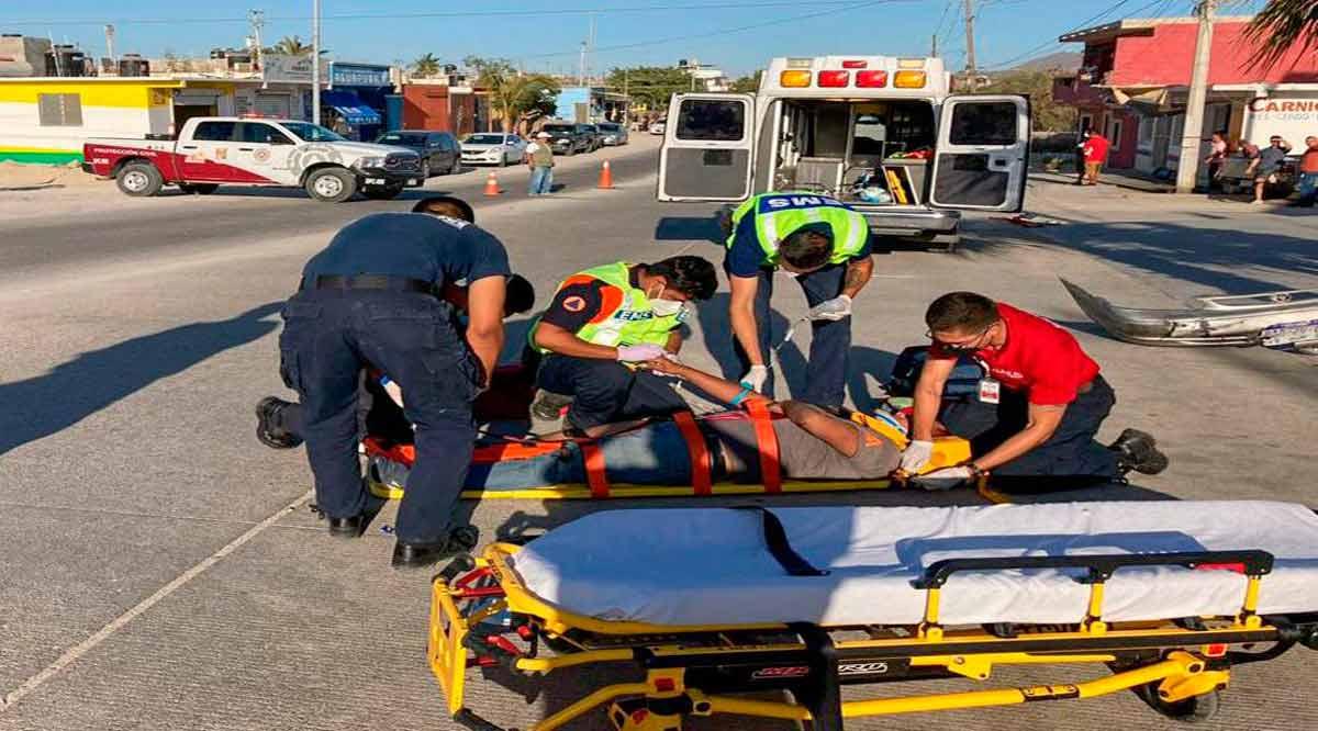 Atiende Protección Civil de Los Cabos 30 accidentes por semana