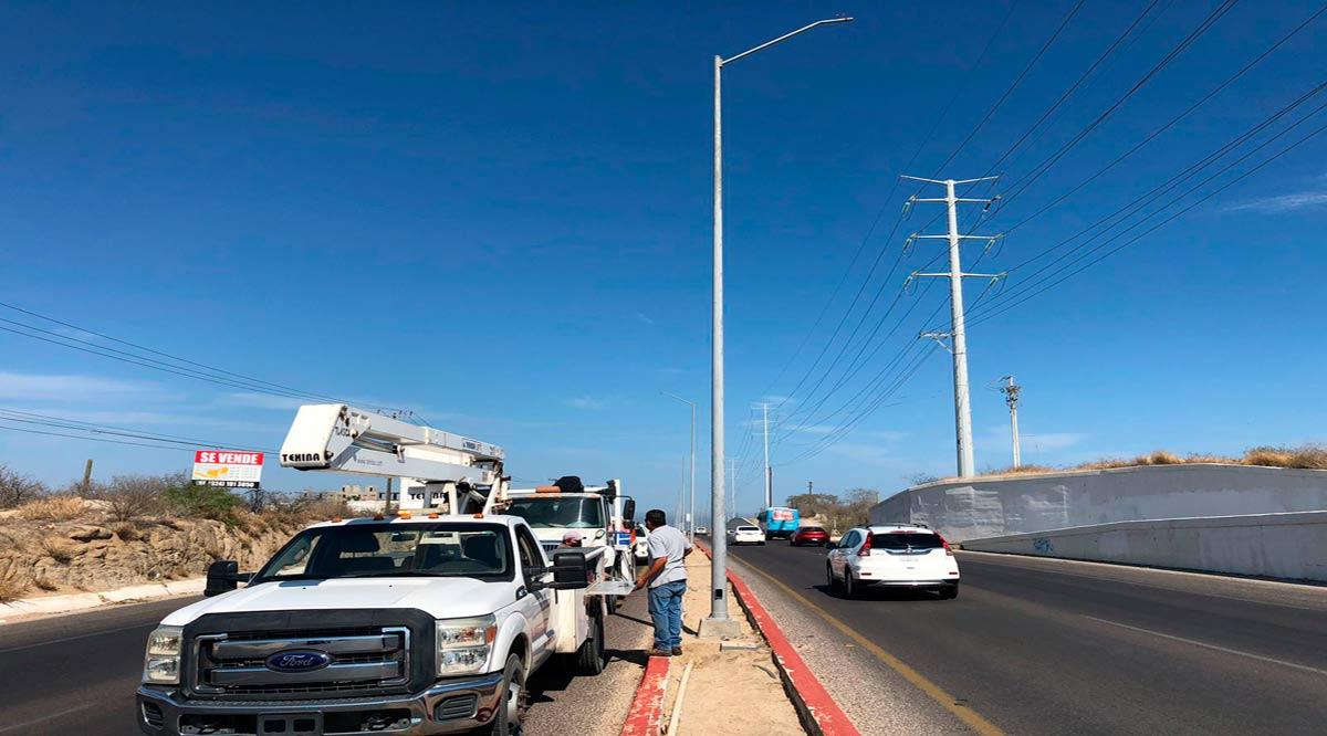 Piden a conductores precaución en el tramo carretero CSL-Todos Santos
