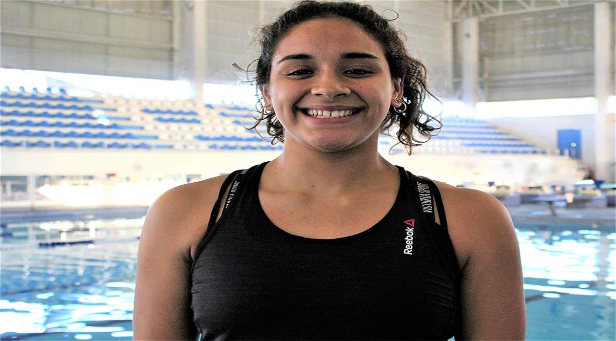 Se quedó Aranza Vázquez con el cuarto lugar en trampolín de 3 metros