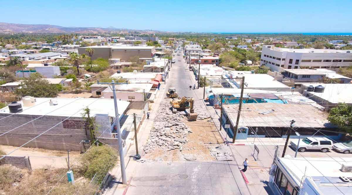 Cierran de manera temporal 10 calles en Los Cabos para su rehabilitación