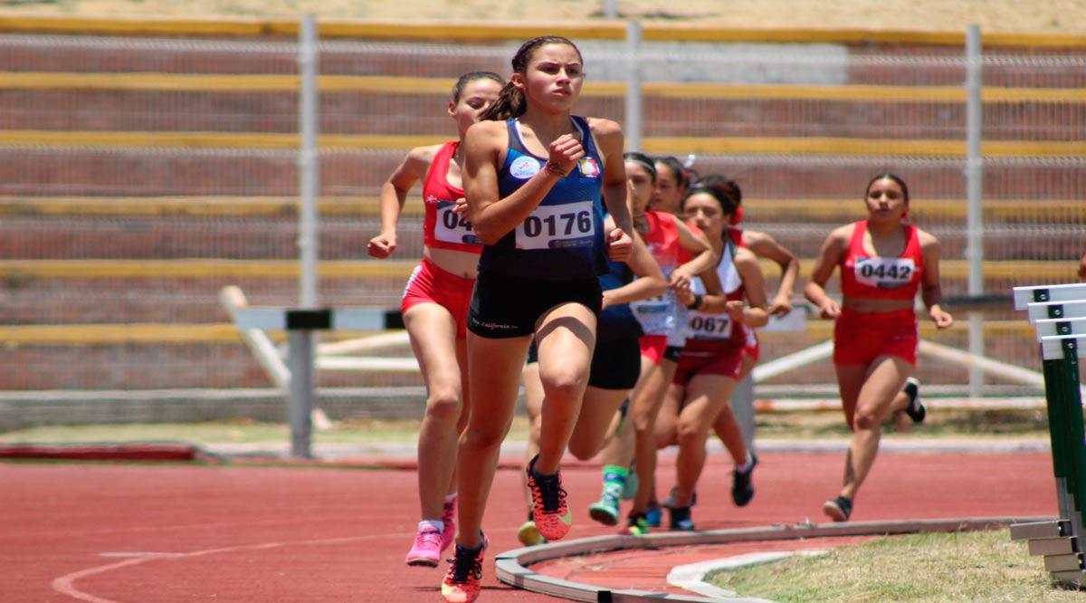 Obtuvo BCS 22 lugares en atletismo para los Nacionales Conade