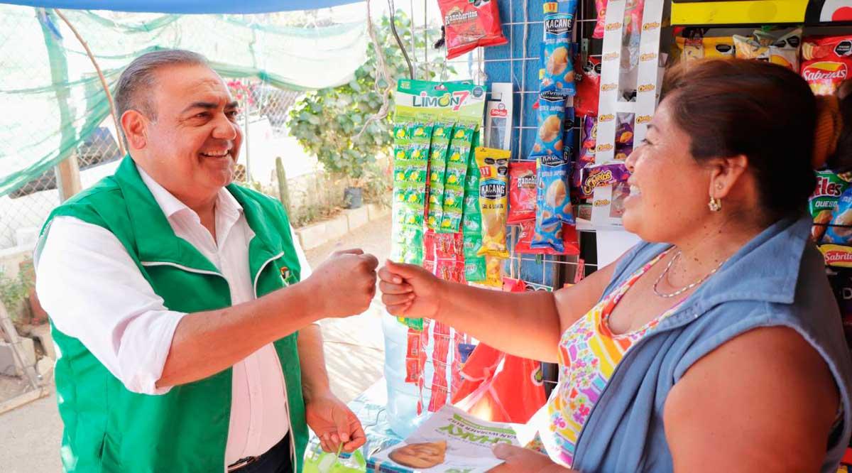 """Ofrece """"Chaky"""" Van Wormer apoyos económicos para reactivación de negocios en Los Cabos"""