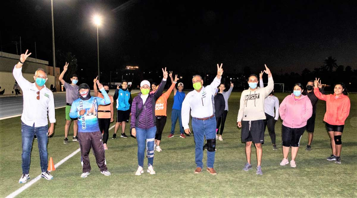 """Plantea """"Chaky"""" Van Wormer una escuela deportiva para Los Cabos"""