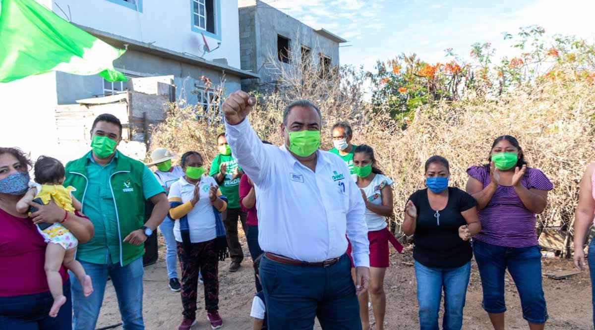"""""""Vengo con soluciones reales porque en Los Cabos ya no queremos ilusiones"""": """"Chaky"""" Van Wormer"""