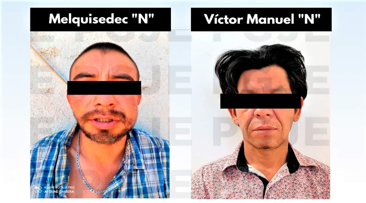 Aprehenden a 2 hombres en La Paz por su relación en hechos delictivos