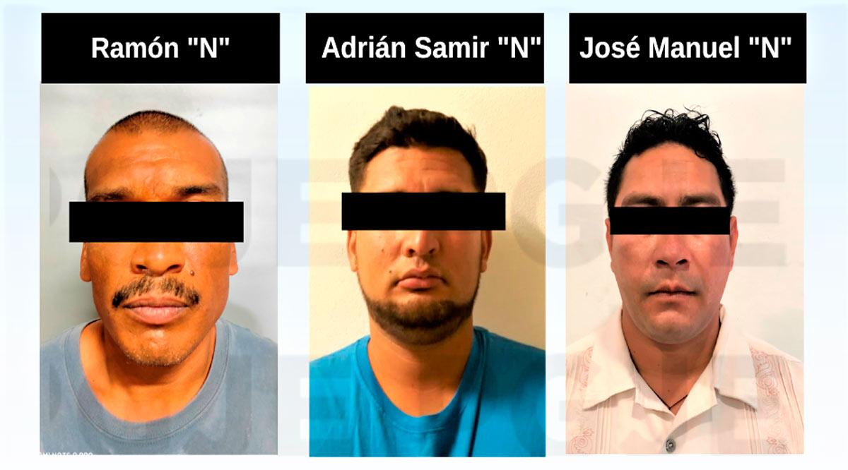 Aprehenden a 3 sujetos en BCS por la comisión de diversos delitos