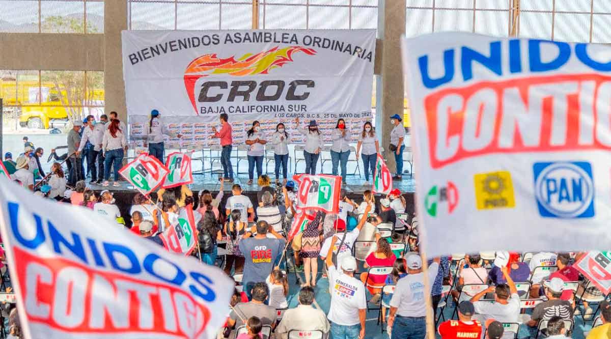 Respalda CROC aspiración de Lupita Saldaña en Los Cabos