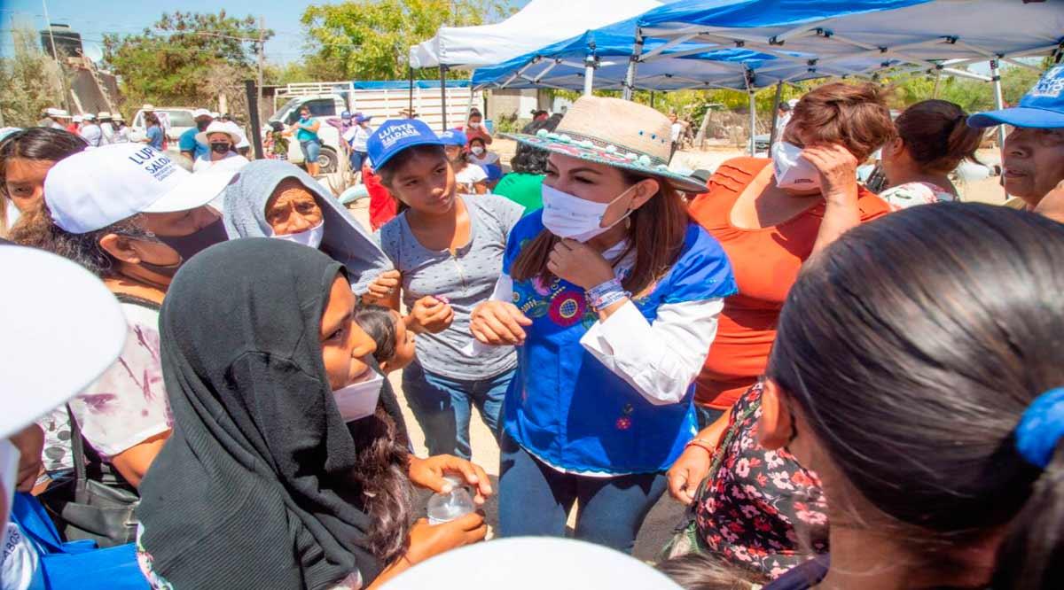 Aplicará Lupita Saldaña programas de Empleo Temporal en Los Cabos