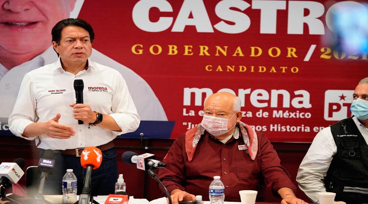 Asegura Mario Delgado que tendrán cobertura del 100% de las casillas en BCS