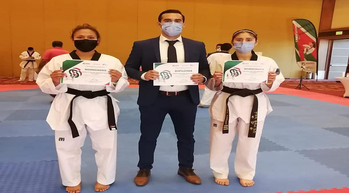 Obtienen plata y bronce taekwondoinas de BCS