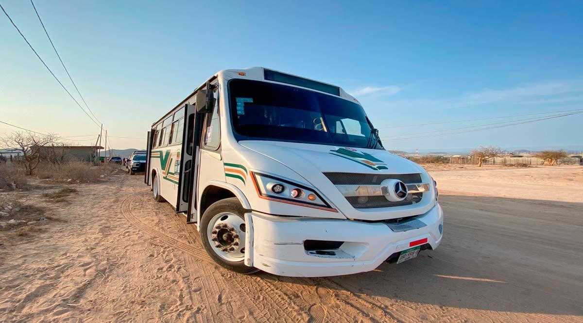 Abren nueva ruta de transporte en CSL
