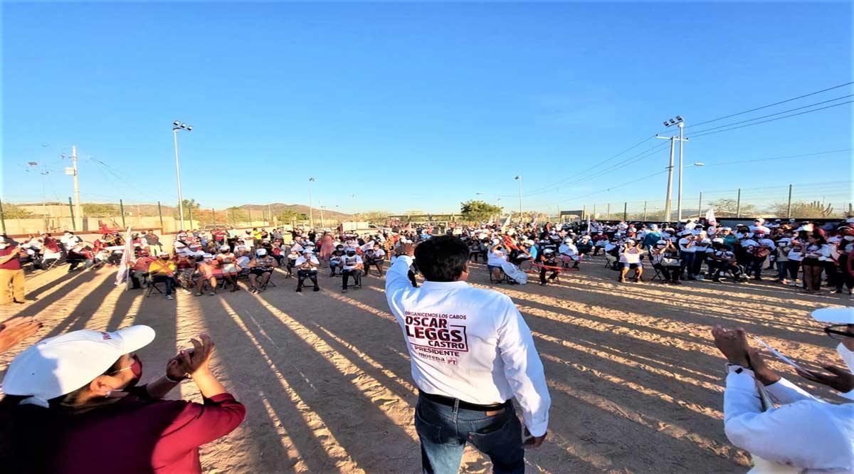 """""""En Los Cabos todos se sentirán seguros hasta en el último rincón del municipio"""": Oscar Leggs"""
