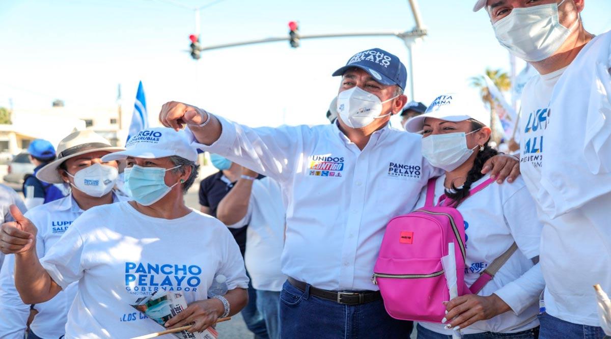 """""""Vamos juntos a mejorar la calidad de vida de Los Cabos y BCS"""": Pancho Pelayo"""