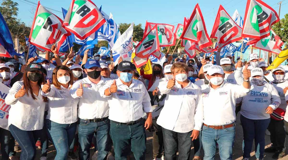 """""""Juntos vamos a rescatar las colonias y el rostro de Comondú"""": Pancho Pelayo"""