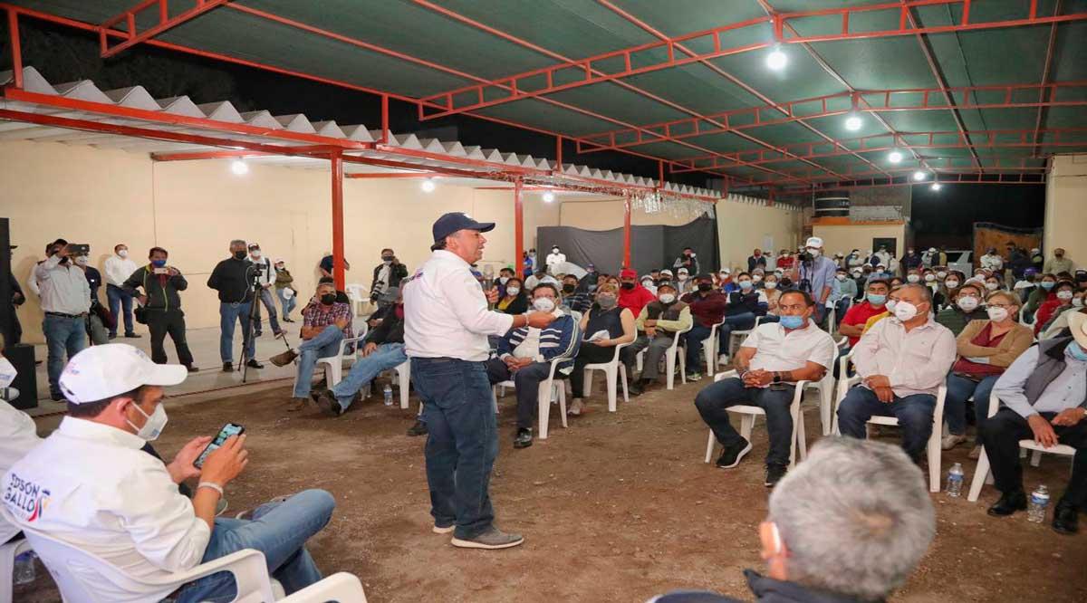 """""""Defenderé a los productores y comerciantes sudcalifornianos"""": Pancho Pelayo"""