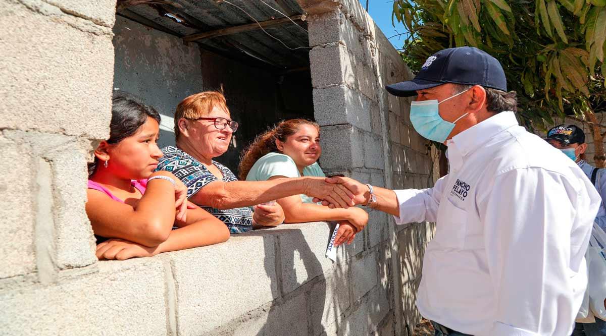"""""""Dimos resultados para Puerto San Carlos y lo volveremos a hacer en el gobierno de BCS"""": Pancho Pelayo"""