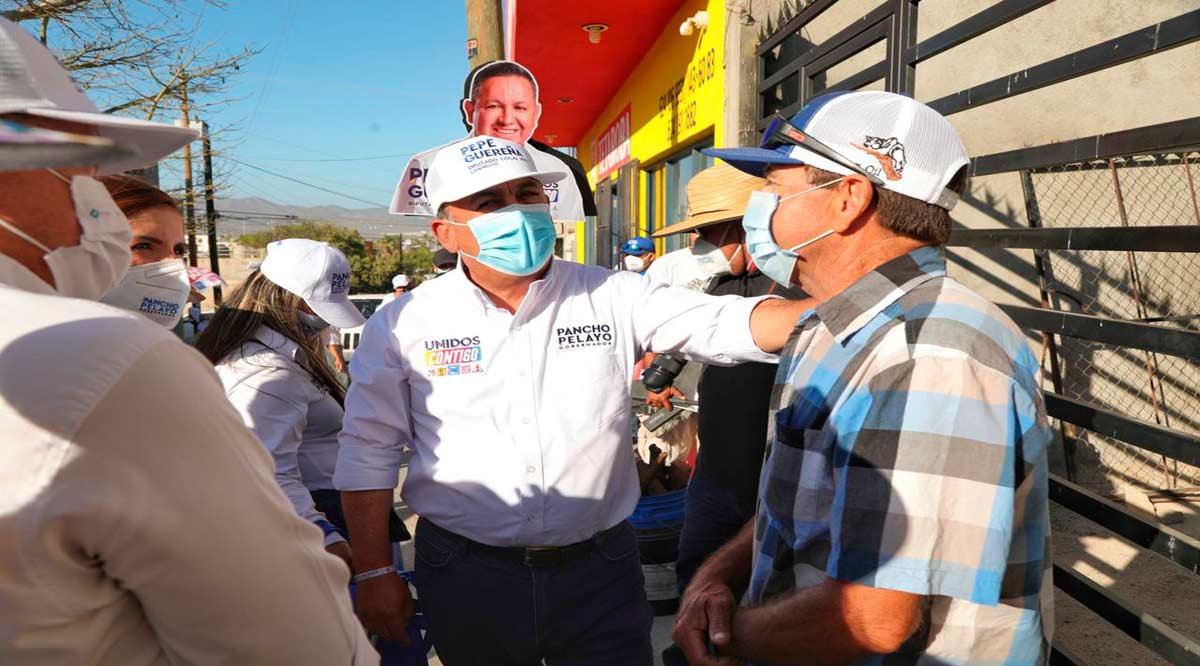 Mejor atención y más infraestructura de salud, anuncia Pancho Pelayo