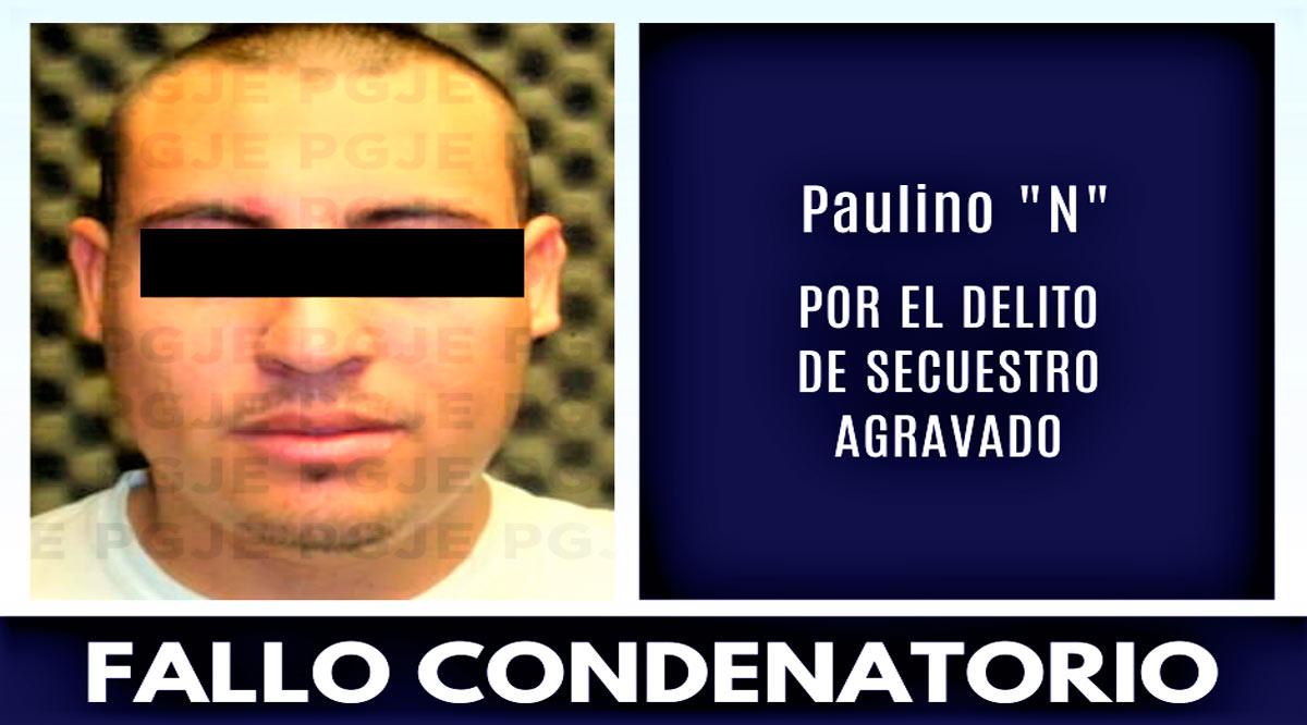 Fallo condenatorio contra sujeto responsable de secuestro en La Paz