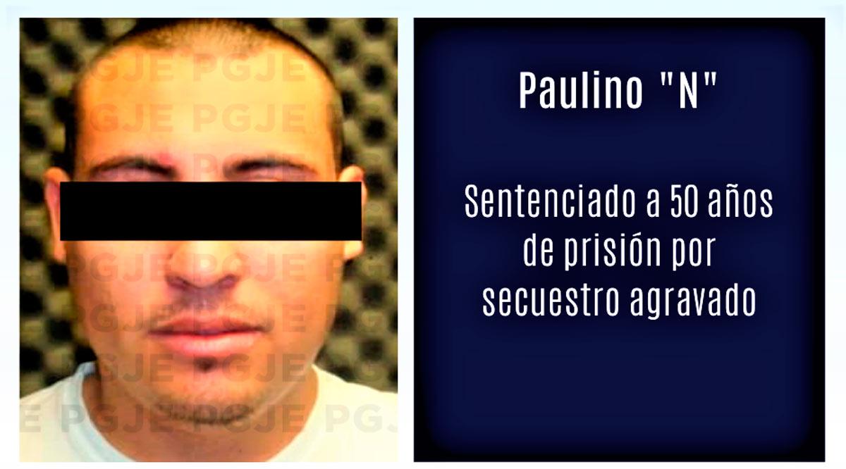 Sentenciado a 50 años de prisión por secuestro agravado de un policía