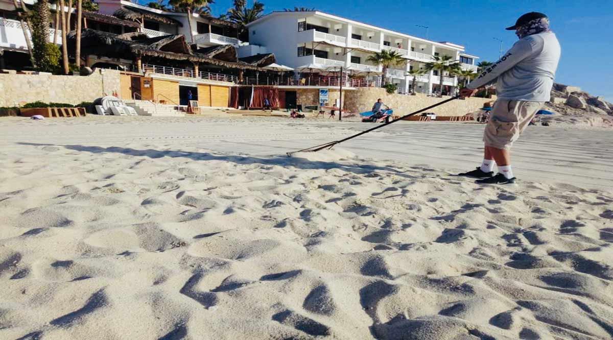 Están abiertas 11 playas en Los Cabos con aforos del 50%