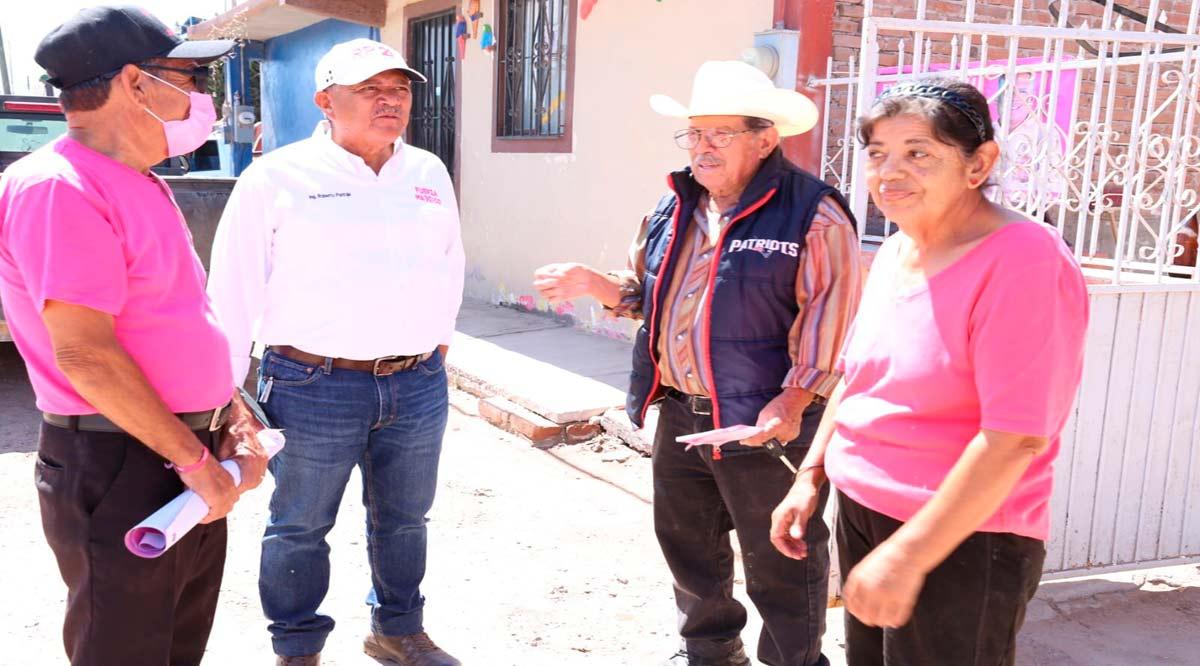 """""""Pondremos alma, vida y corazón por la gente de Comondú"""": Roberto Pantoja"""