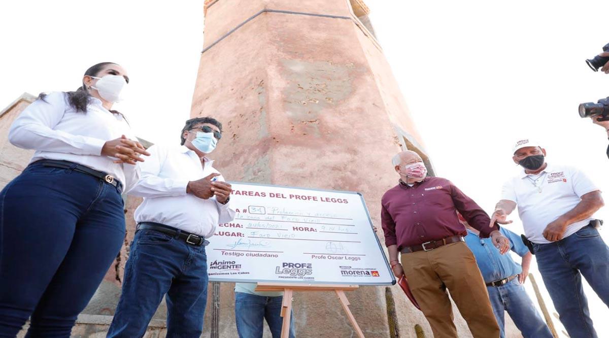 """""""Preservaremos y protegeremos el patrimonio históricos y cultura de los sudcalifornianos"""": Víctor Castro"""