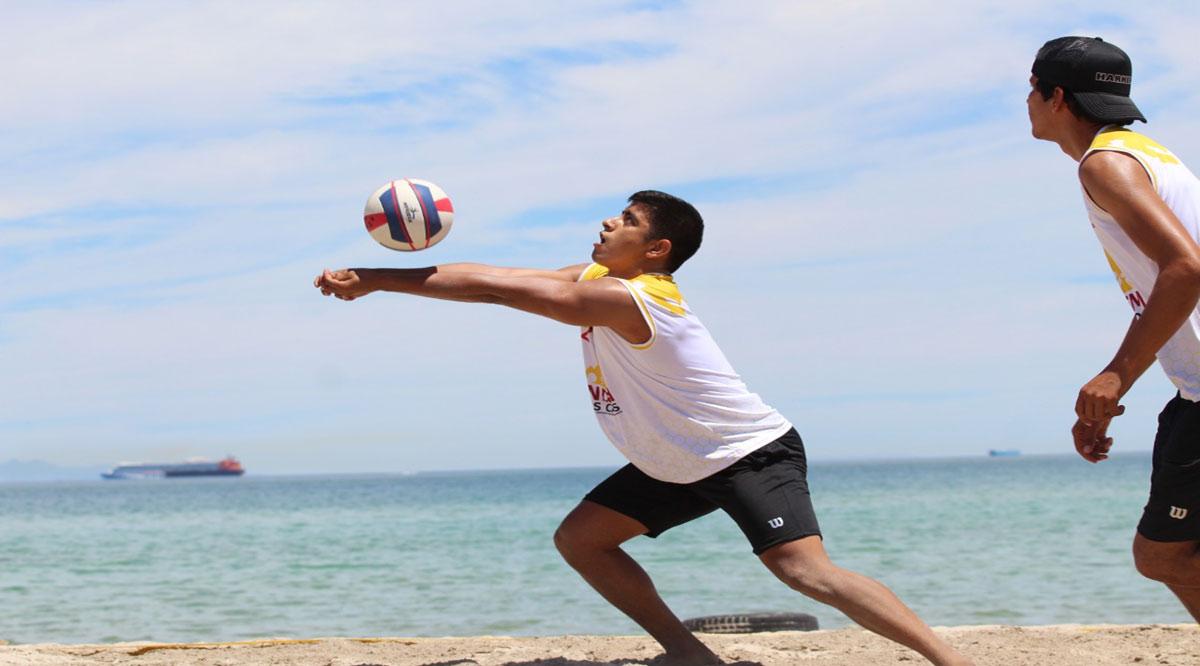 Juvenil menor y mayor de volibol de playa para Los Cabos; la juvenil superior para La Paz