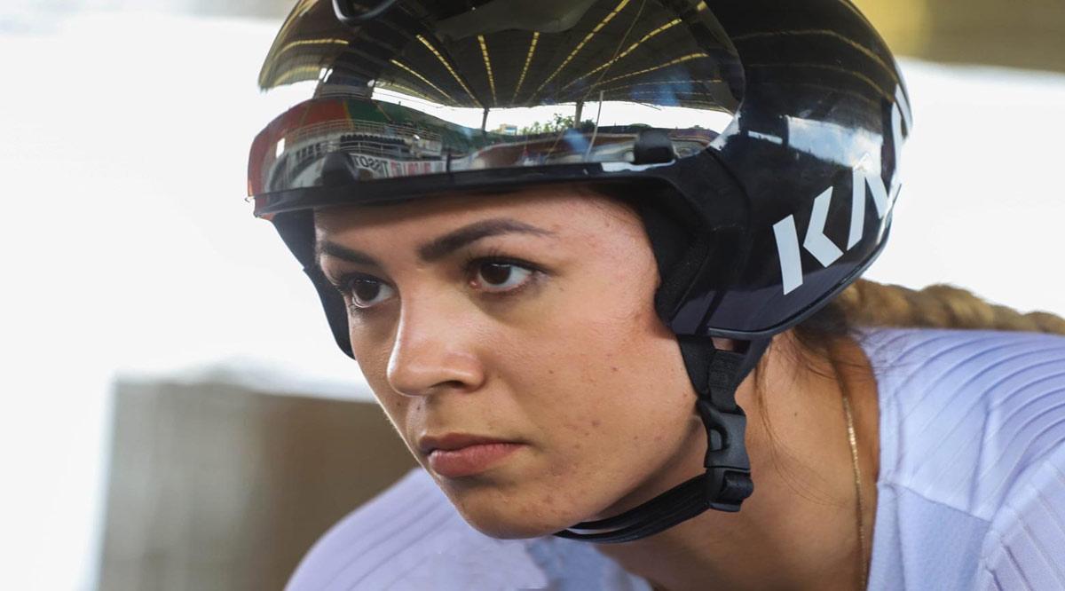 Se convierte Yuli Verdugo en la primera ciclista de BCS en ir a las Olimpiadas