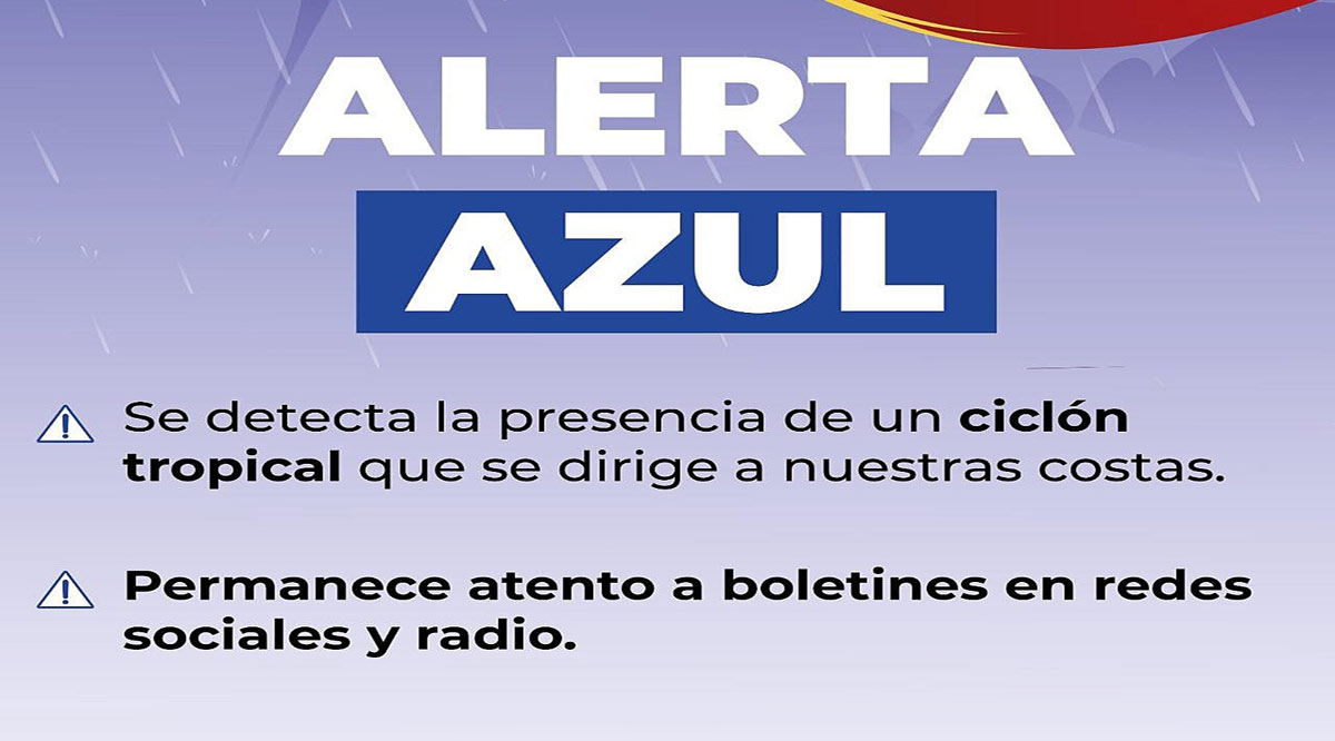 """Cercanía de la tormenta tropical """"Enrique"""" provoca emitan en Los Cabos la alerta azul"""