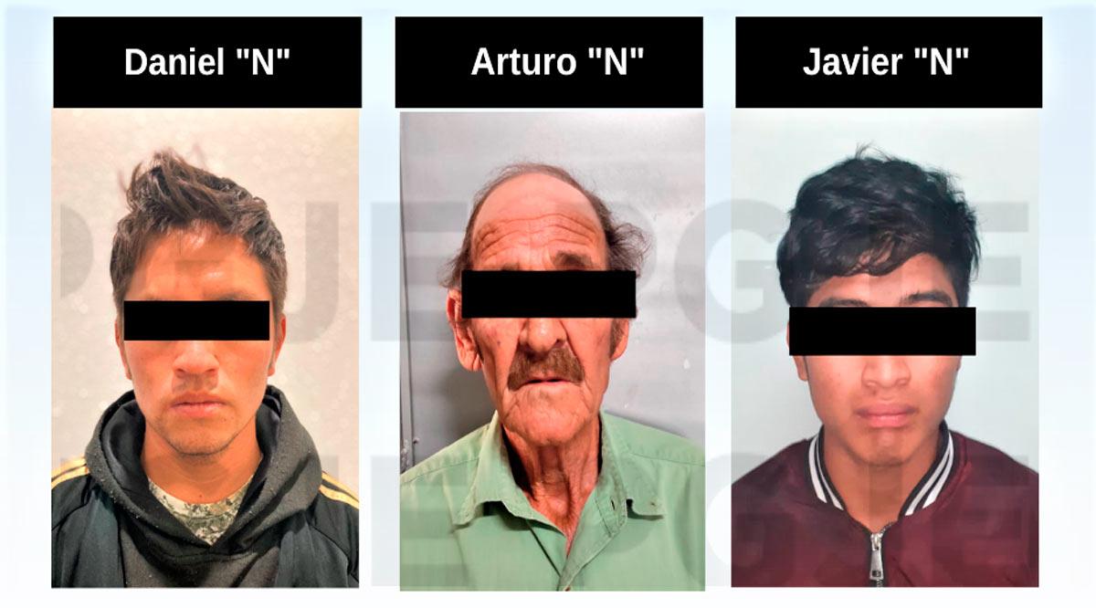 Detienen a 3 sujetos relacionados con delitos sexuales en BCS