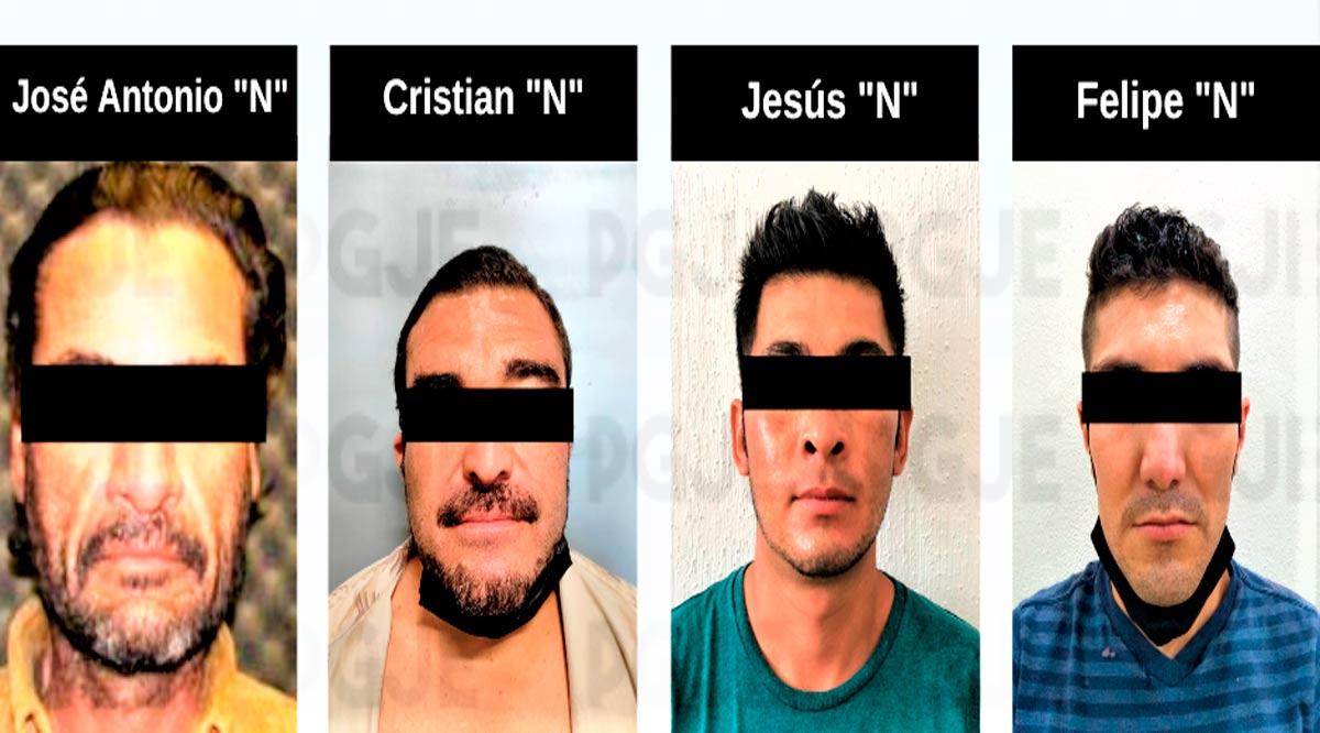 Aprehenden a 4 personas en BCS por la comisión de diversos delitos