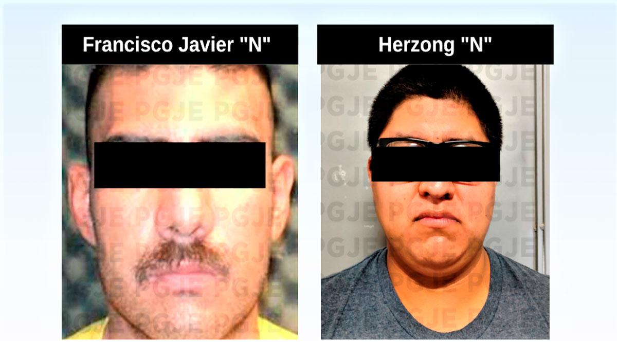 Aprehenden a par de sujetos por la comisión de hechos delictivos en La Paz