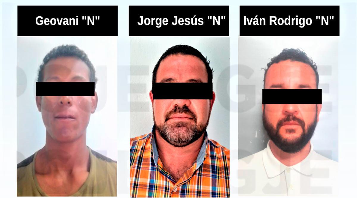 Detienen a 3 sujetos por la comisión de hechos delictivos en BCS