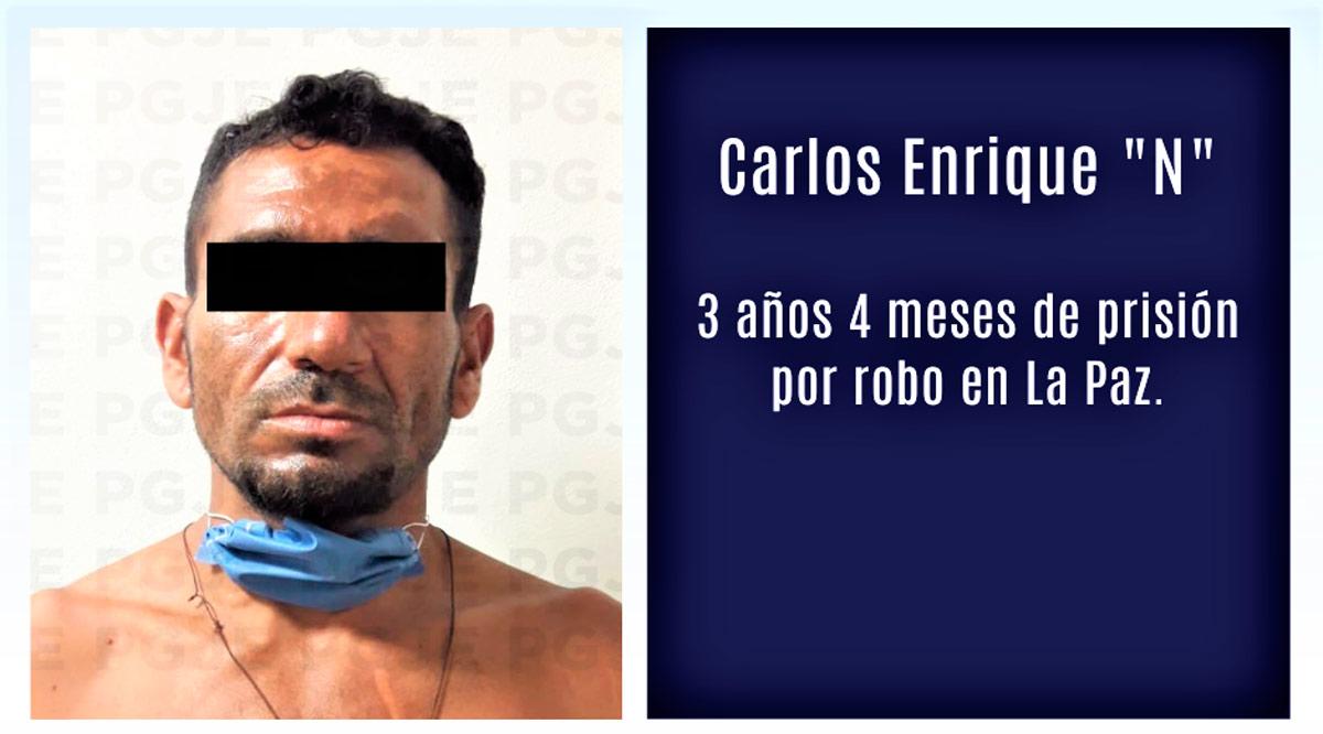 """Por robo dan 3 años 4 meses de prisión a """"El Topo"""" en La Paz"""