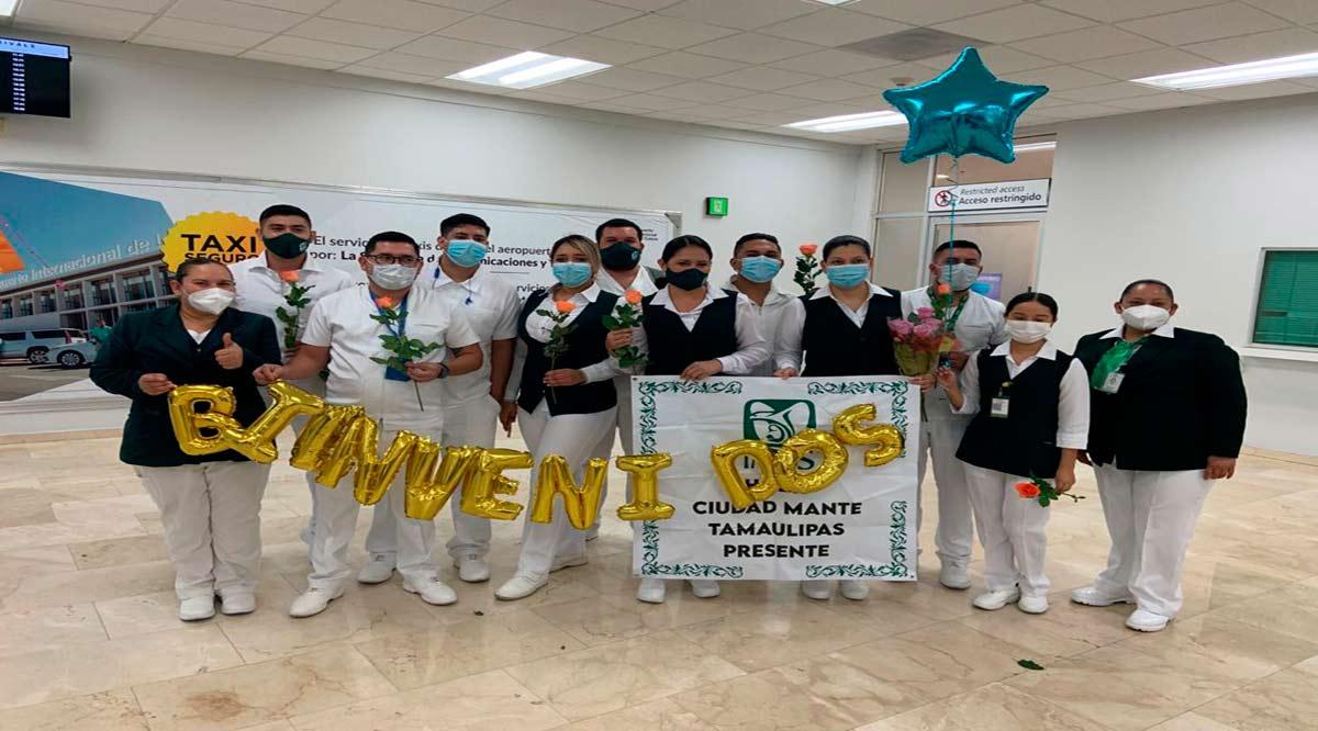 Llega personal de enfermería de Tamaulipas a sumarse a equipos de respuesta Covid-19 del IMSS en BCS