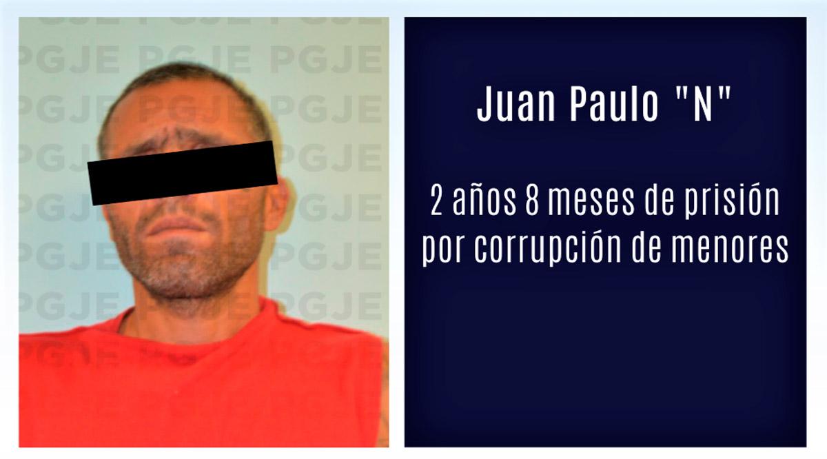 """Pasará """"El Lagrimita"""" 2 años 8 meses en prisión por corrupción de menores en Comondú"""
