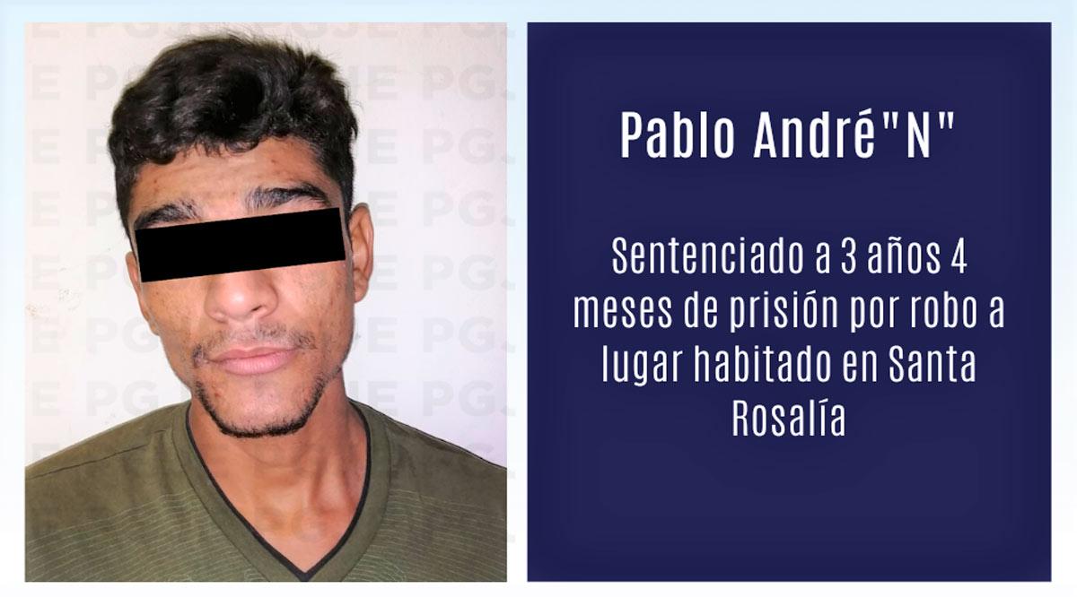 Pasará 3 años y 4 meses en prisión por robo en Mulegé