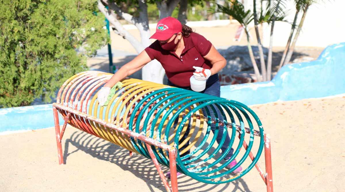 Reducen en Los Cabos los aforos a los parques públicos en 40%