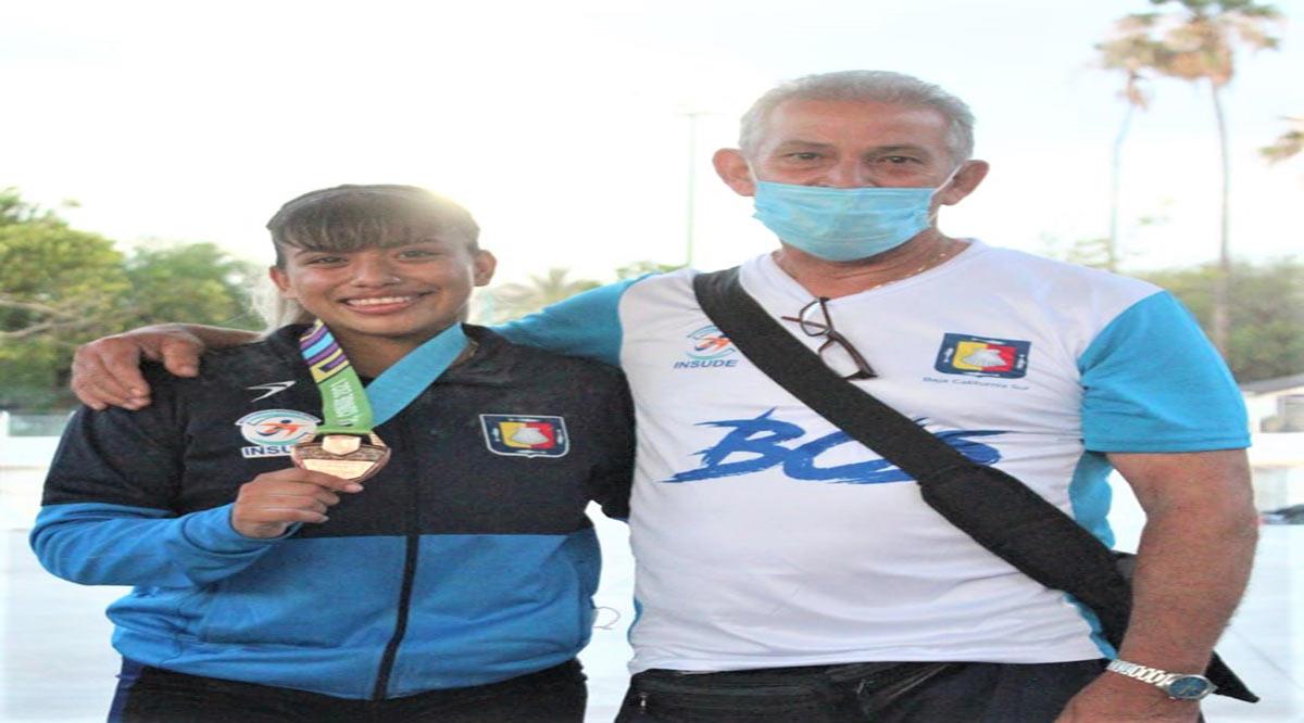 Obtuvo pesista Andrea Bermúdez medalla de bronce en Nacionales Conade