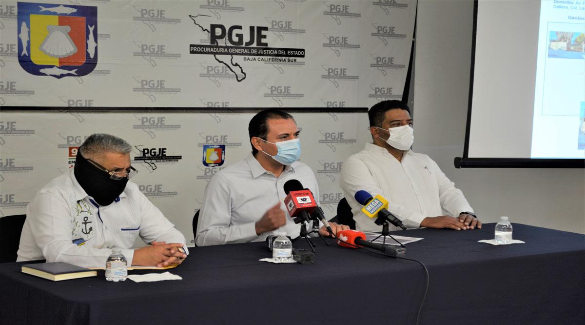 Resolvió la PGJE 2 feminicidios registrados en Los Cabos