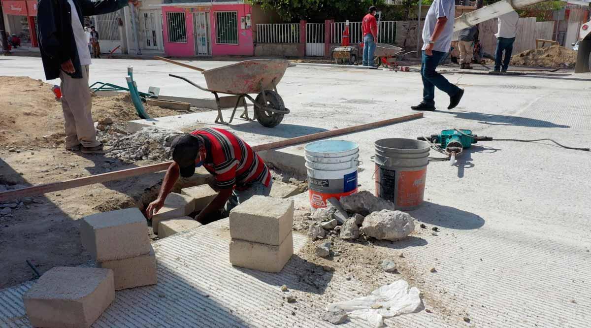Concluirá en agosto la pavimentación de la calle Manuel Doblado en SJC