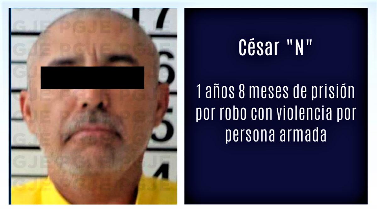 Sentenciado a 1 año 8 meses de prisión por robo con violencia en Los Cabos
