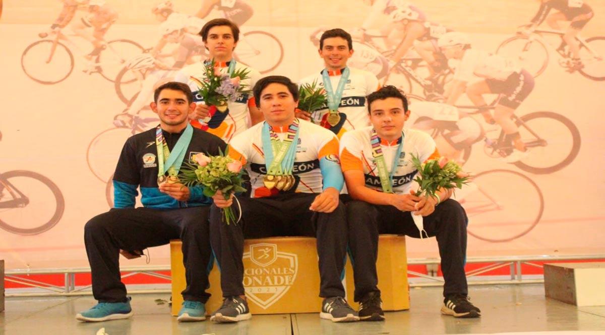 Cerró el ciclismo de BCS con 34 medallas