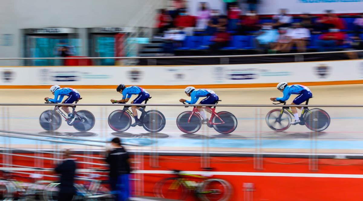 Sobresale equipo de BCS en el ciclismo de pista